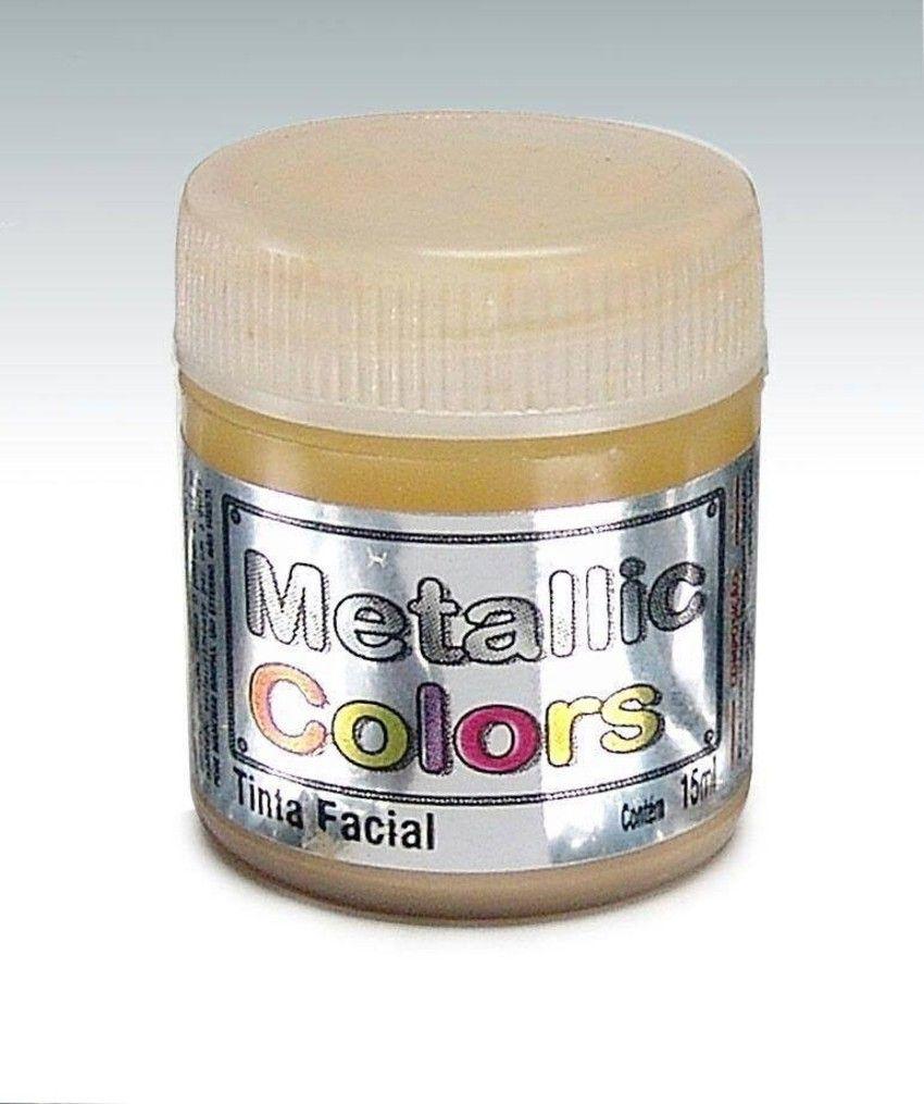 Tinta Liquida Metálica Dourado 15ml Rostinho