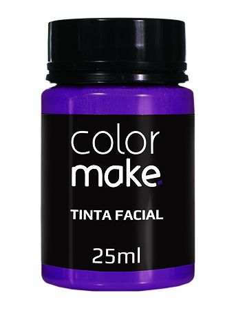 Tinta Líquida Roxa 25ml Color Make