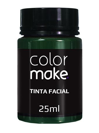Tinta Líquida verde 25ml Color Make