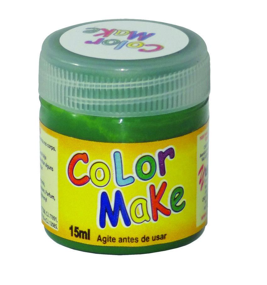 Tinta Líquida verde 15ml Color Make