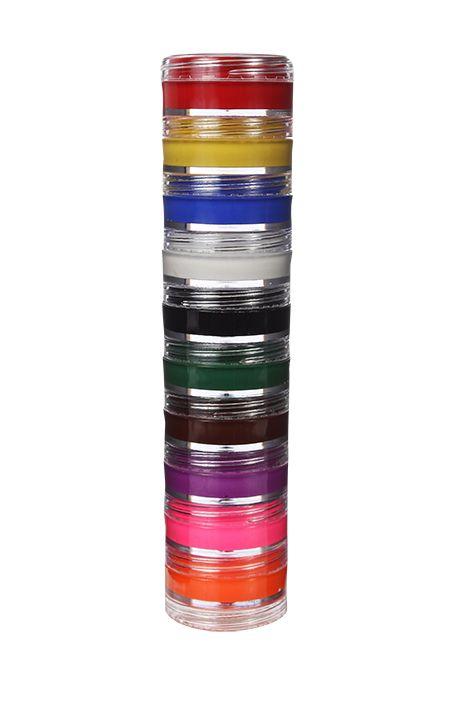 Torre de Tinta Facial Cremosa 10 cores
