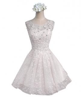 Vestido Curto Tainara Branco