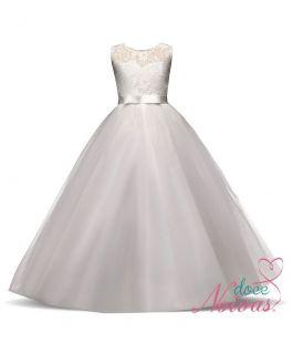 Vestido Dama de Honra Off White