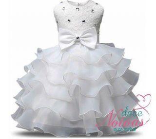 Vestido De Aia Florista Daminha