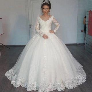 Vestido de Noiva Glamour com Linda Cauda