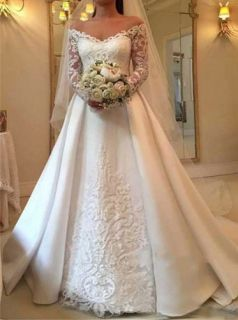Vestido de Noiva Inspiration Manga Longa
