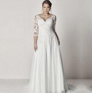 Vestido de Noiva London Plus Size