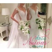 Vestido de Noiva Sereia Adriana