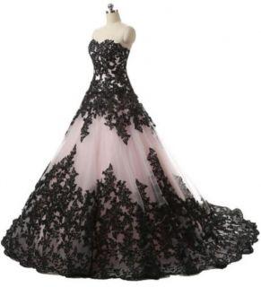 Vestido de Noiva Tomara que Caia Branco e Preto