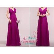 Vestido Longo Roxo Purpura