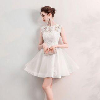 Vestido Noiva Curto Luciana Off White