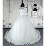 Vestido de Noiva Premmier Detalhe Costas