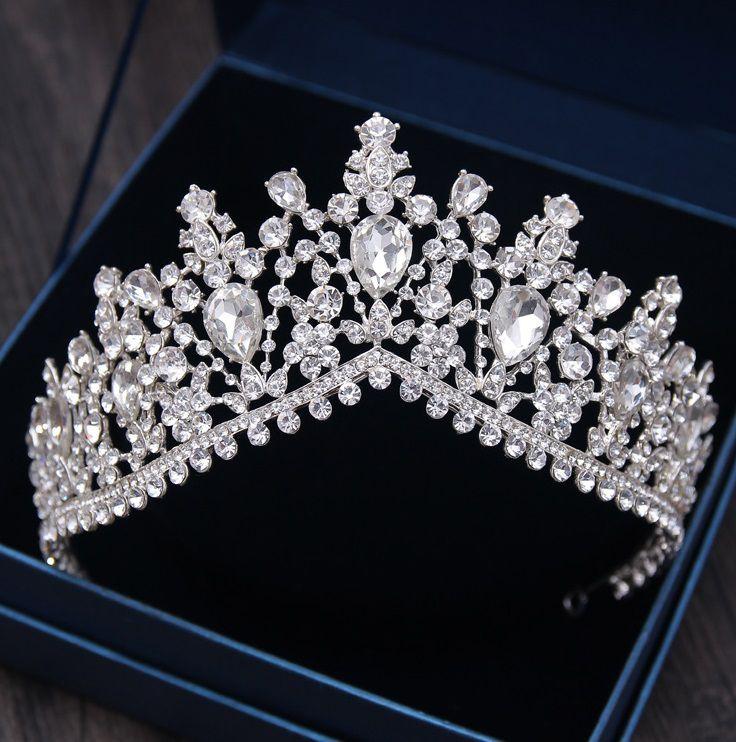 Coroa Prateada e Rose Gold Queen