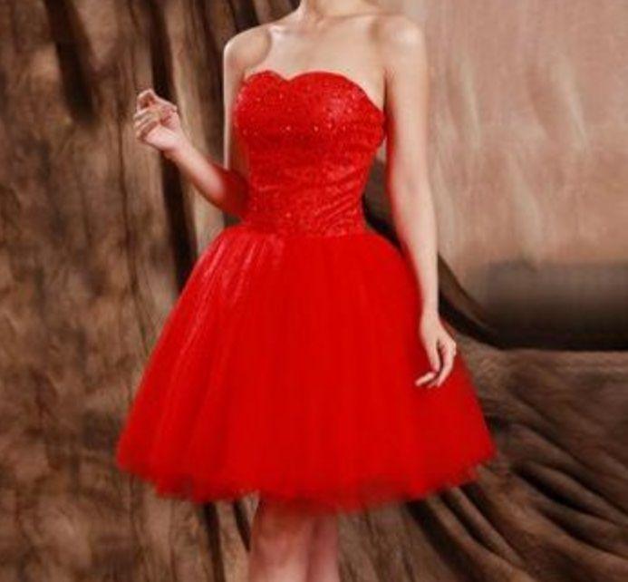 Vestido Curto Debutante Balada Preto, Vermelho, Marsala