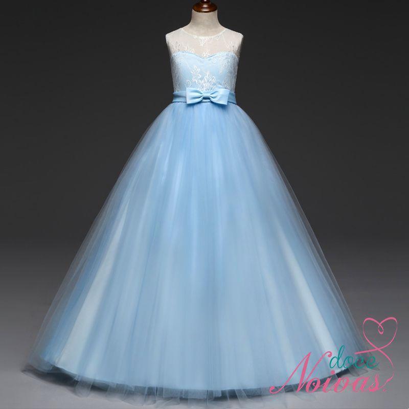 Vestido Dama de Honra Azul