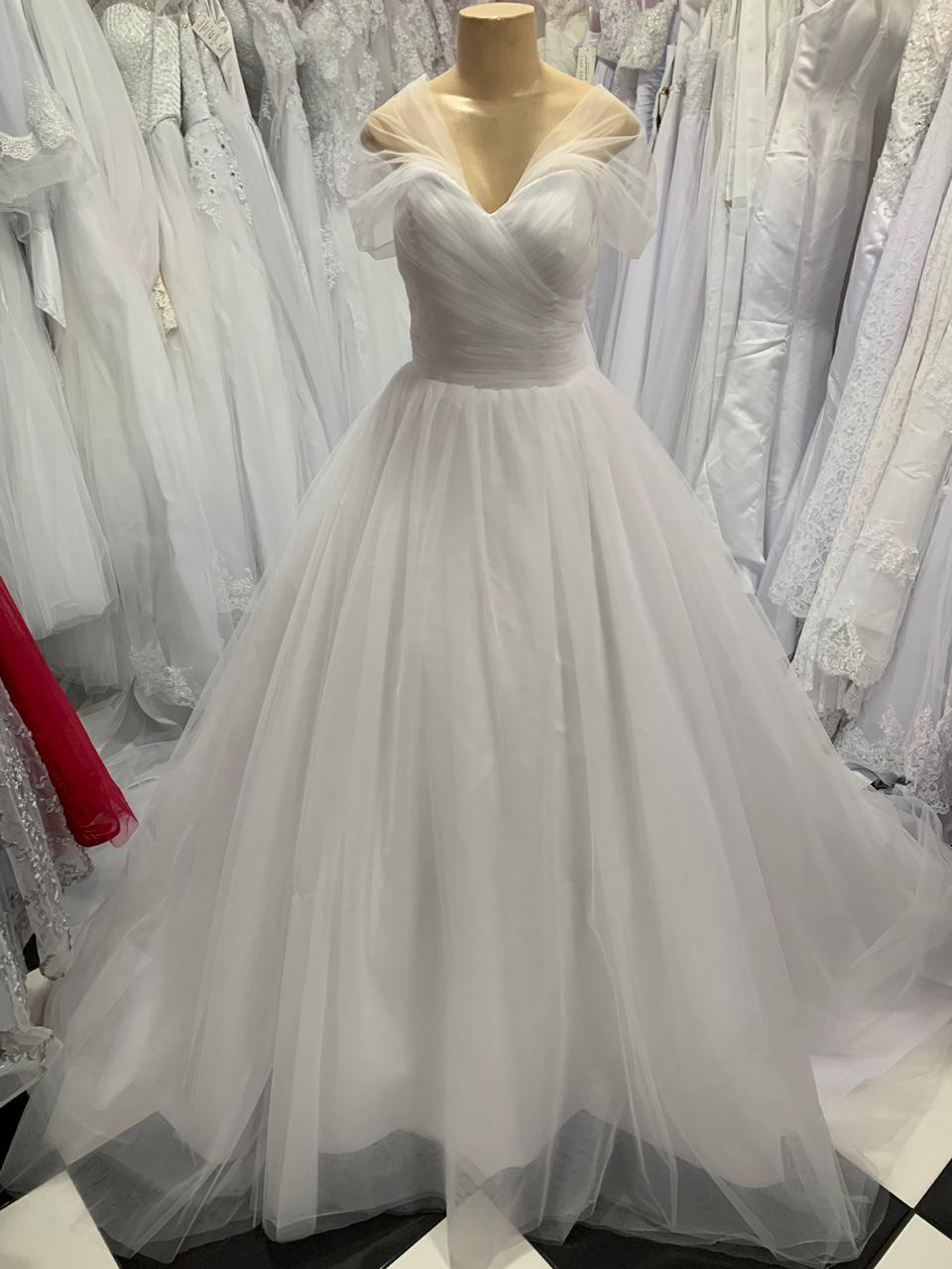 Vestido de Noiva Bella Alça Ombro