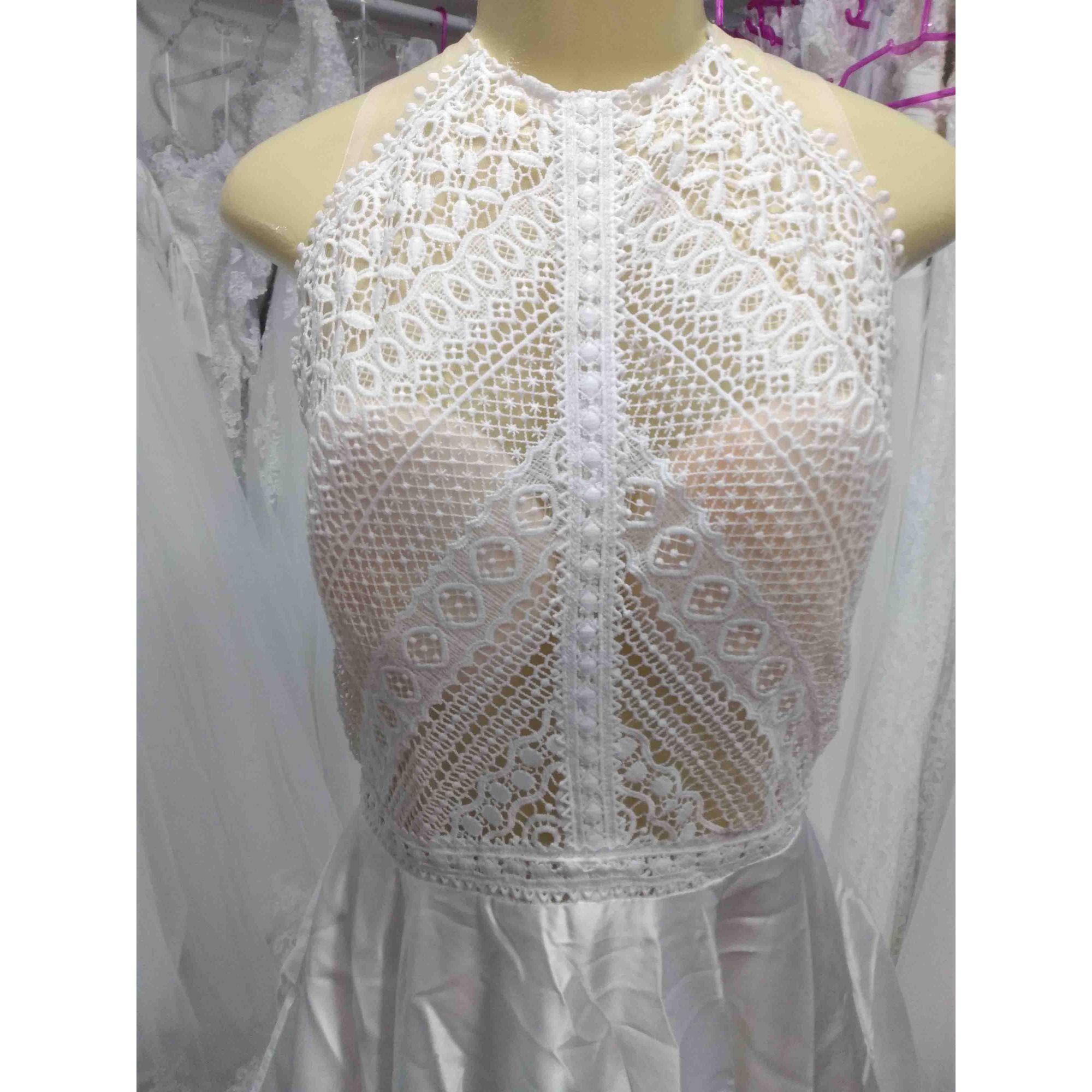 Vestido de Noiva Bohemia Cetim