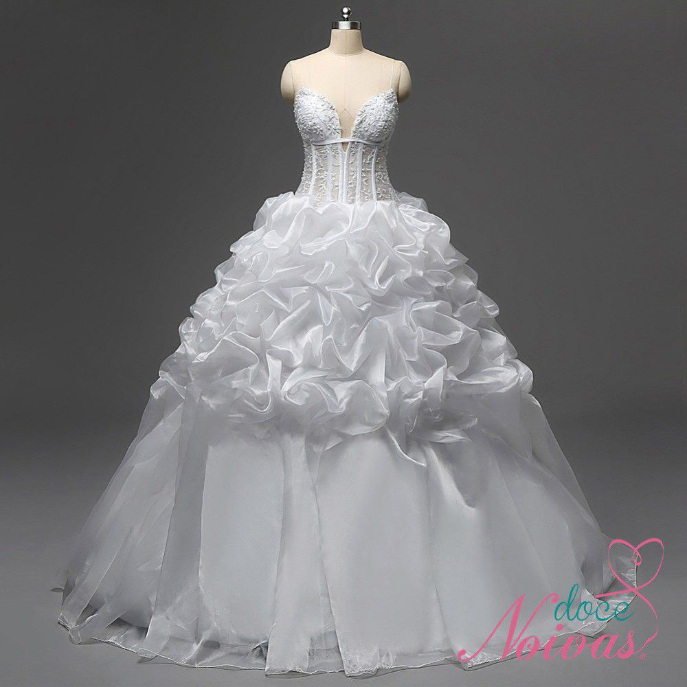 Vestido de Noiva Debutante Luxo
