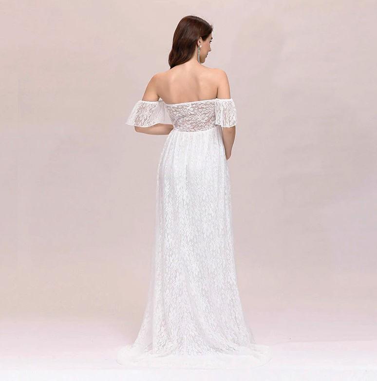 Vestido de Noiva Gestante Leve