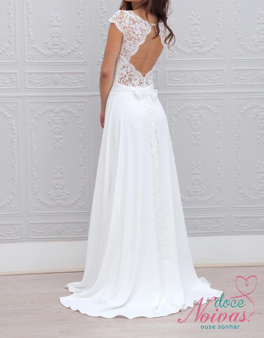 Vestido de Noiva Leve Angel