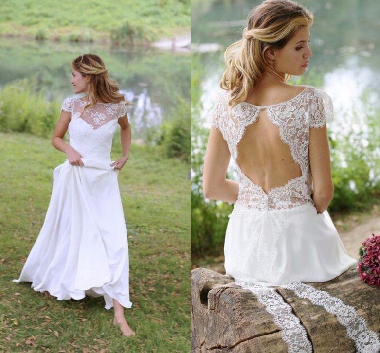 Vestido de Noiva Leve Angel Detalhe Costas