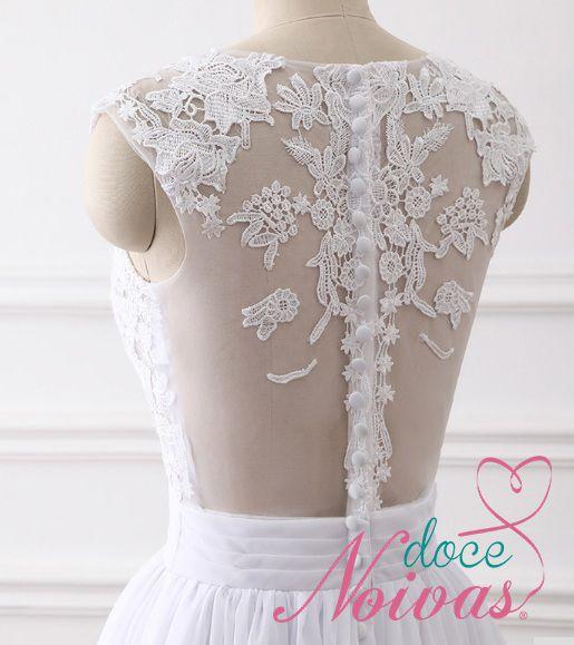 Vestido de Noiva Leve Cloe