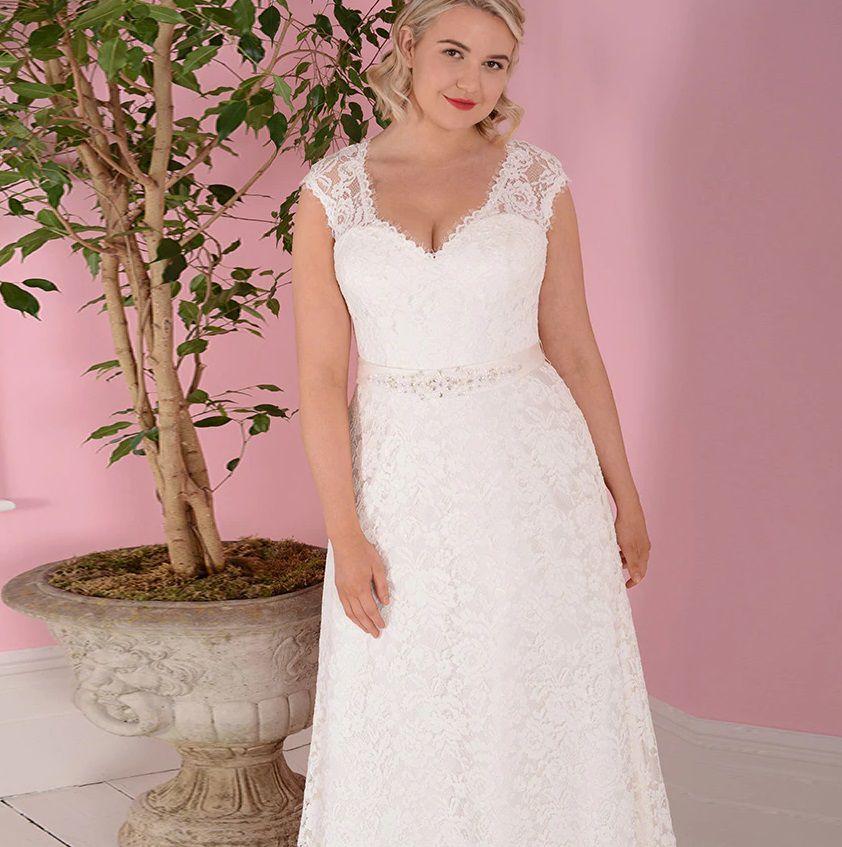 Vestido de Noiva Leve Plus Size