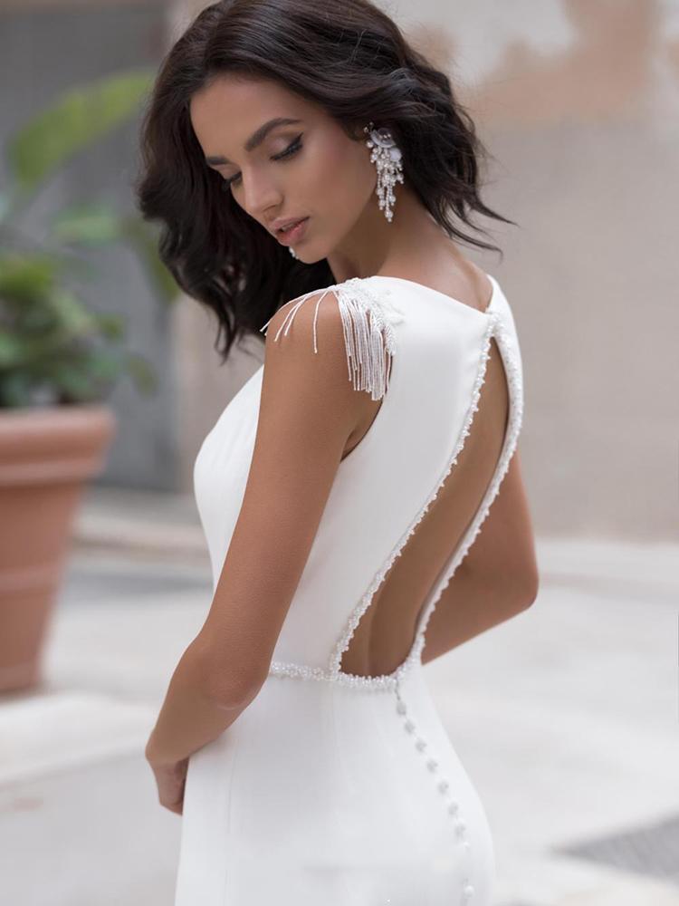 Vestido de Noiva Love Decote Costas