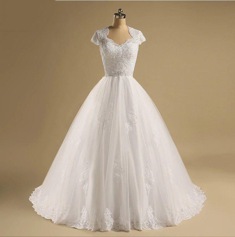 Vestido de Noiva Mara Costas Aberta