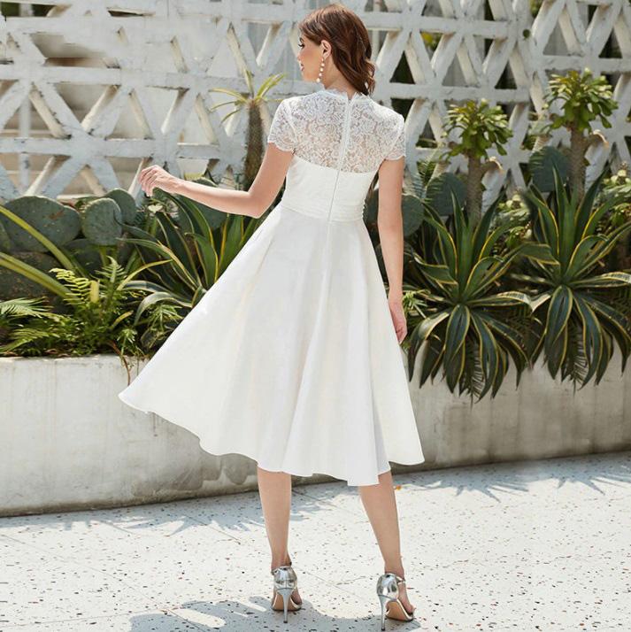Vestido de Noiva Midi Maitê