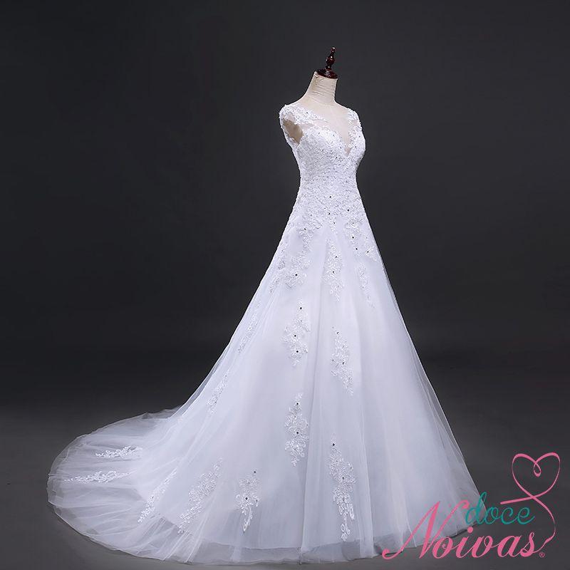 Vestido de Noiva Nevada