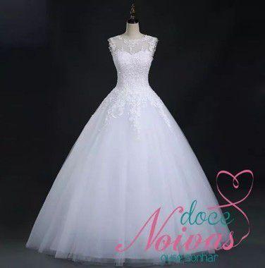 Vestido Princesa Rubia