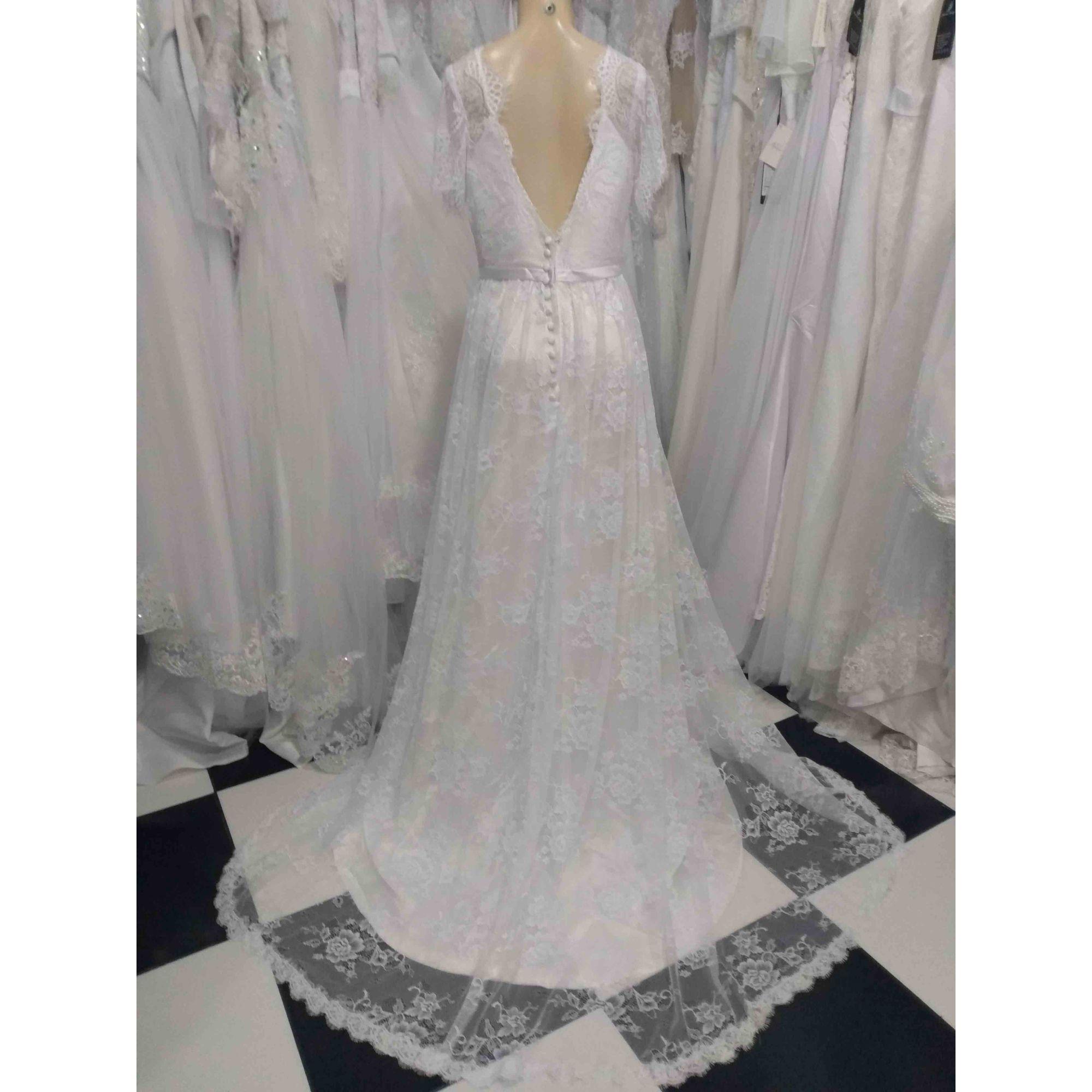 Vestido de Noiva Rendado Boho