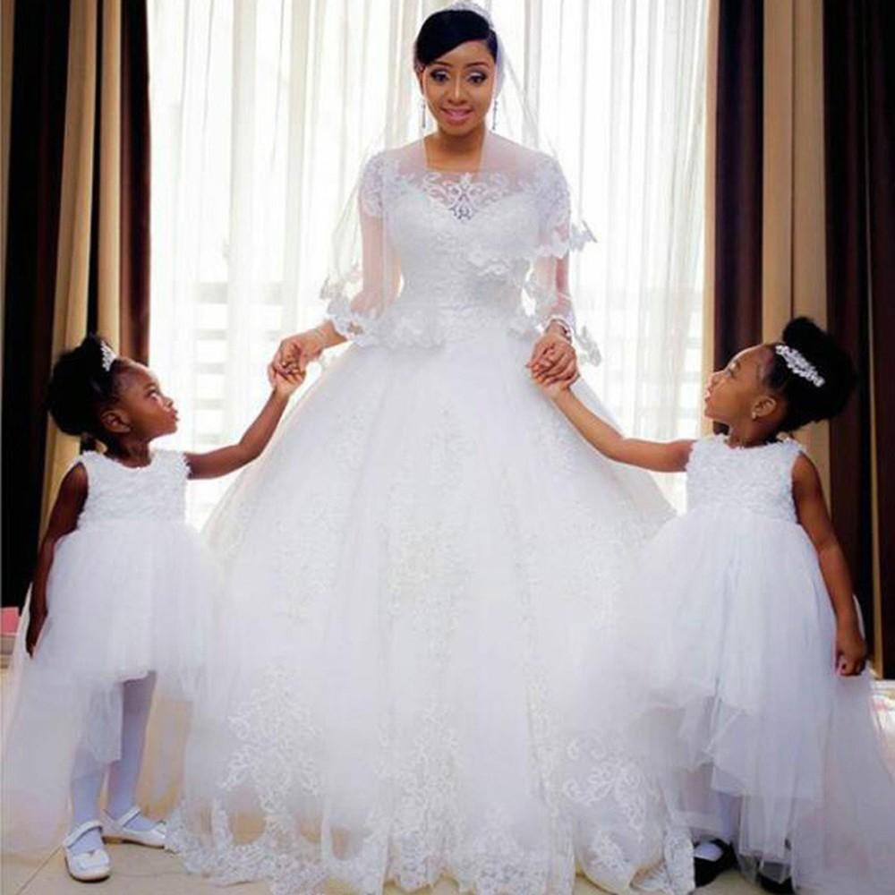 Vestido de Noiva Bordado Rihanna