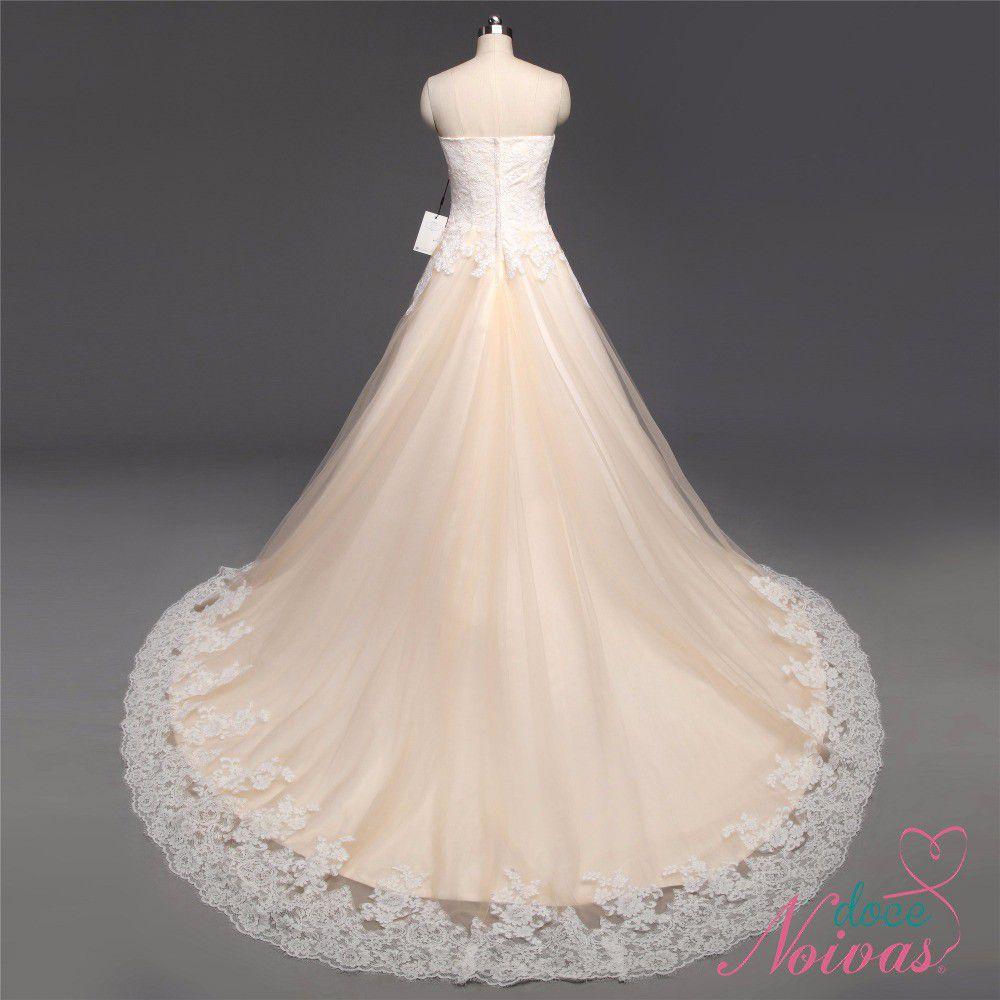 Vestido de Noiva Supremo Tomara que Caia