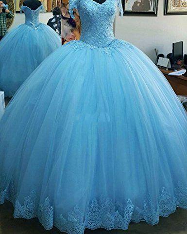Vestido Debutante Azul Tiffany