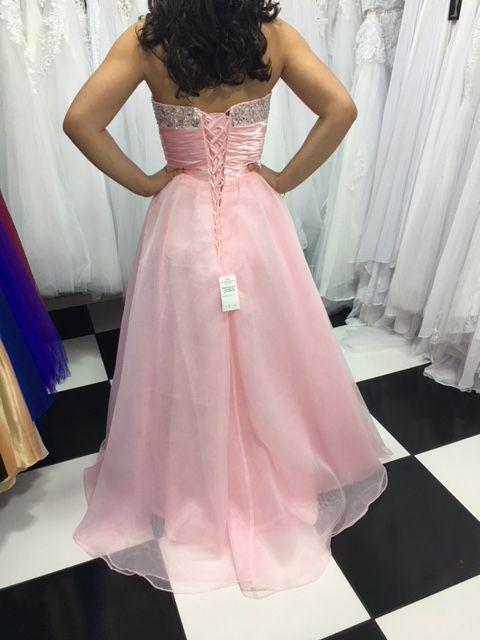 Vestido Debutante Rosa