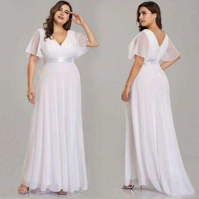 Vestido Leve Civil Plus Size