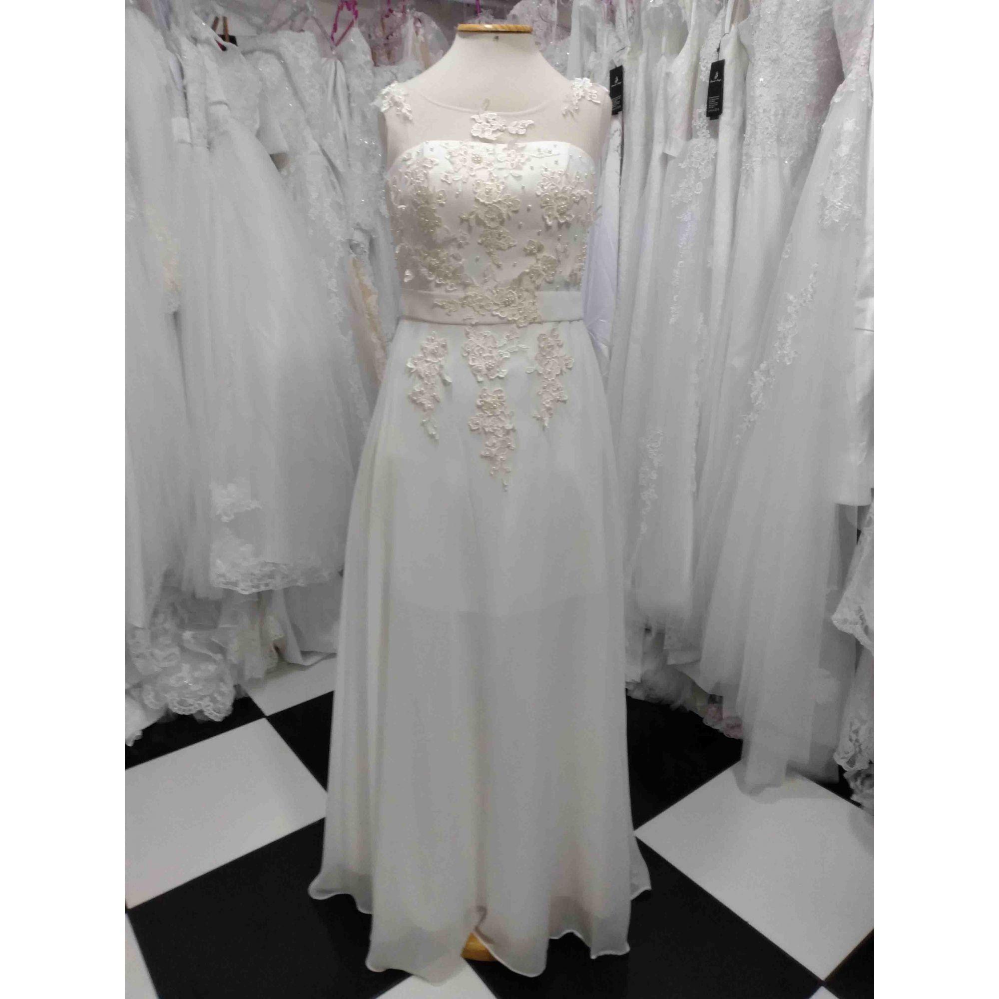 Vestido Leve Off white