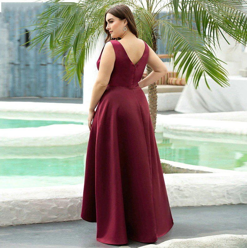 Vestido Mullet Marsala