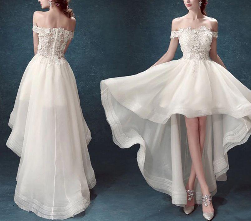 Vestido Mullet Off White