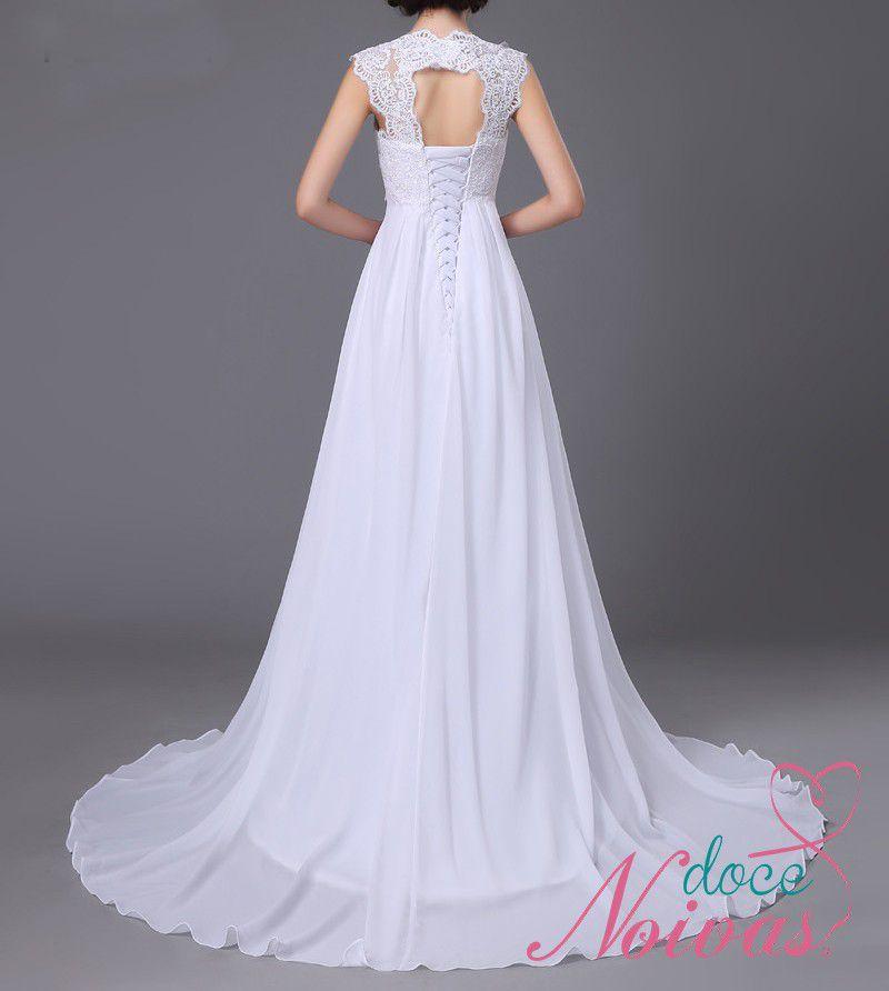 Vestido Noiva Leve Civil