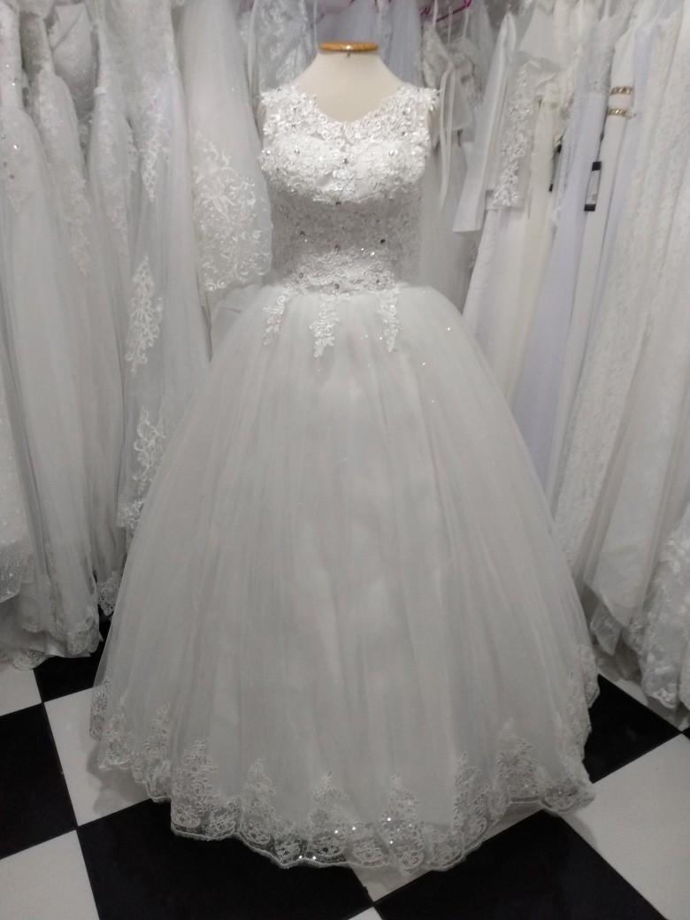 Vestido Princesa Flávia Off White