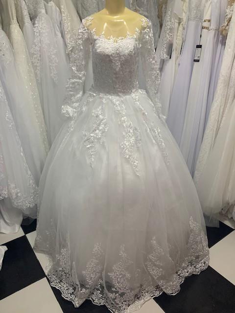 Vestido Princesa Tiele Detalhe Barra
