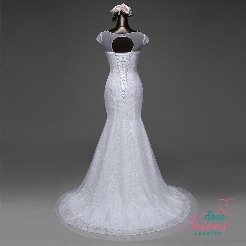 Vestido Sereia Perla