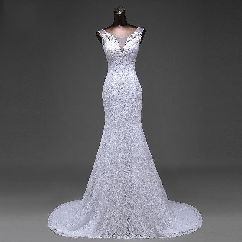 Vestido Sereia Renda Estela