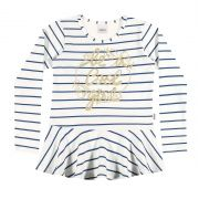 Blusa Feminina Infantil Inverno Off White Be a Cool Girl Elian
