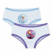 Calcinha Infantil Kit 2 Frozen Lupo