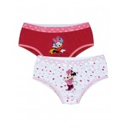 Calcinha Infantil Kit 2 Minnie Lupo
