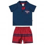 Conjunto Masculino Infantil Azul Marinho Starfish Elian
